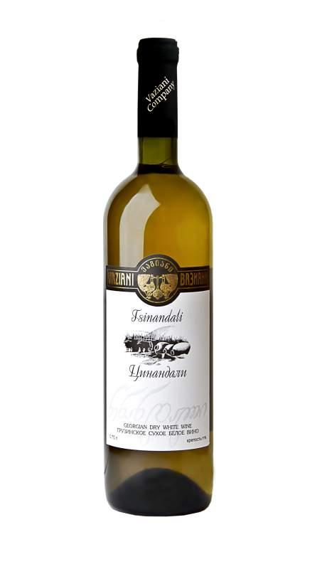 White Tsinandali wine