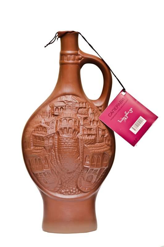 Saferavi в Специальной керамической бутылке