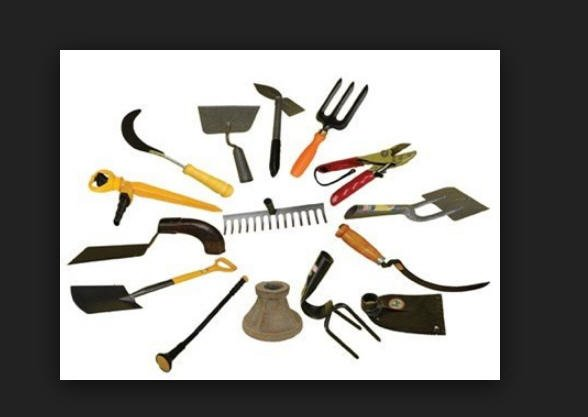 A list of garden tools. A list of garden tools buy in Tbilisi