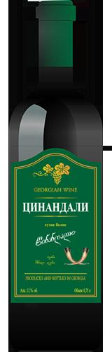 Buy Tsinandali Dry white wine