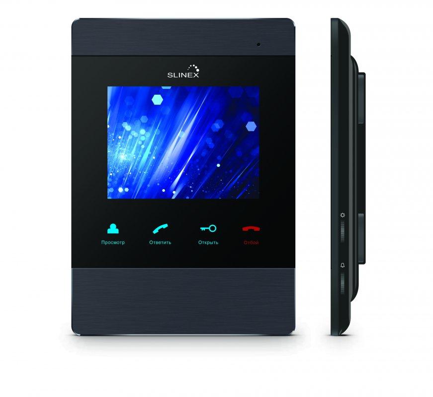 """Buy Домофон 4"""" аналоговый со встроенной памятью Slinex SM-04M"""