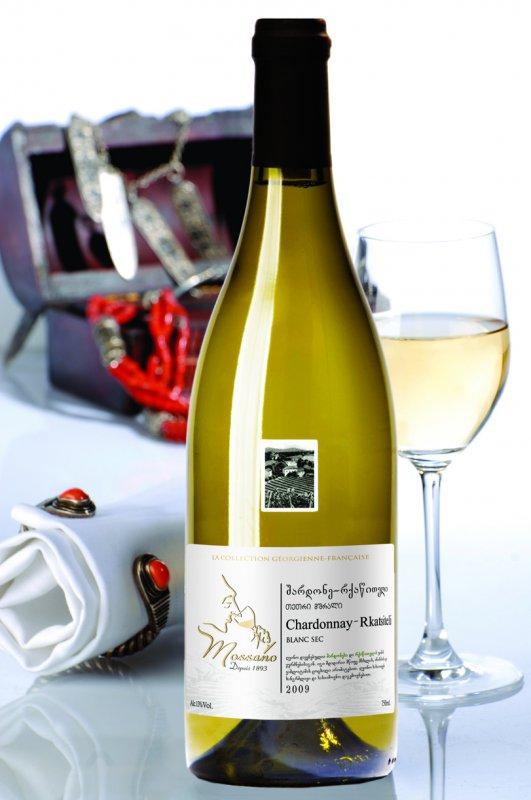 Buy CHARDONNAY-RKATSITELI white dry wine