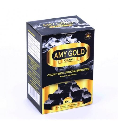 Buy Кокосовый уголь для кальяна Amy Gold