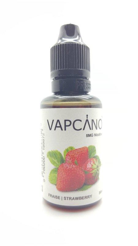 Buy Жидкость для электронных сигарет Vapcano STRAWBERRY 30 мл