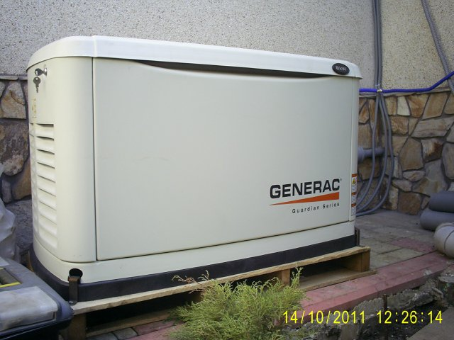 Buy Газовый электрогенератор GENERAC 5.6 kW / გაზის გენერატორი Generac 5.6 kW