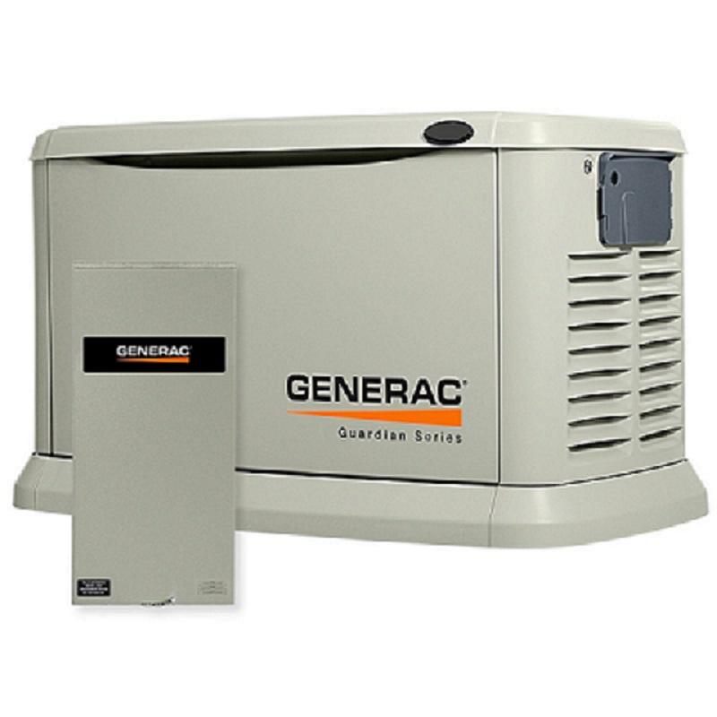 Buy Электрогенератор газовый GENERAC 8 kW / გაზის გენერატორი Generac 8 კვ