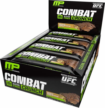 Buy MusclePharm Combat Crunch Bars 12 bars