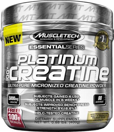 Buy Muscletech 100% Platinum Creatine - UNFLAVORED (0.89 Pound Powder)