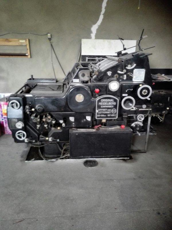 Buy Офсетная печатная машина HAIDELBERG KORD 46*64