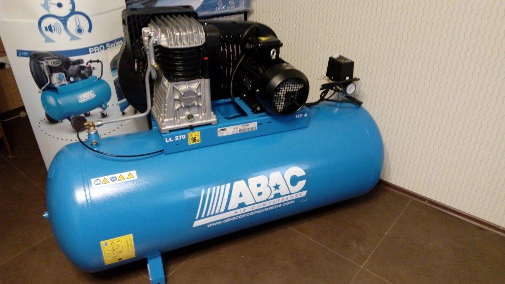 Buy ABAC Air compresssor 270 L - ITALY - ABAC воздушный компрессор