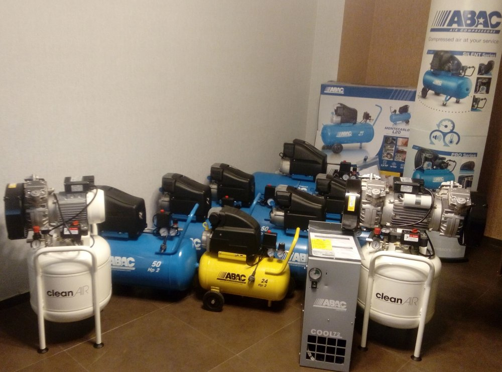 Buy ABAC Air Compressor 50 liter - Italy- ABAC воздушный компрессор