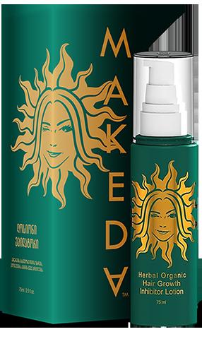 Buy Лосьон-эпилятор, останавливающий рост волос на теле Makeda