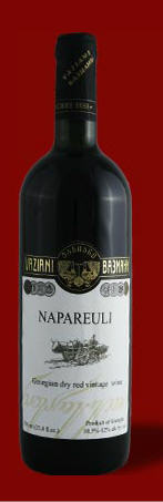 Dry Red Wine from Vaziani