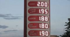 The electronic index of prices for gas stations