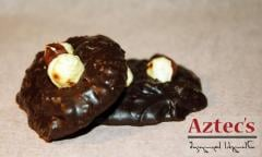 Black Chocolate With Nuts