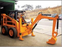 Backhoe Loader Turns Into a Mini - Excavator