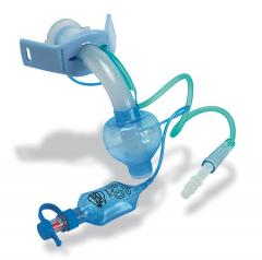 Cuffed Blue Line Tracheostomy Tube (Non USA)