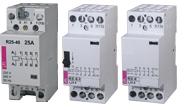 Modular contactor for installation into