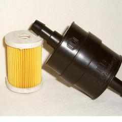 Gas filter fine filter for the 4th generation of