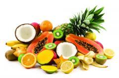 Fruits.Фрукты.Сметанное я́блоко