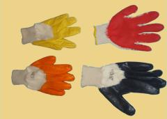 Перчатки рабочие (Gloves)