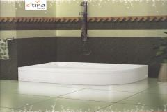 Corner type bathtub