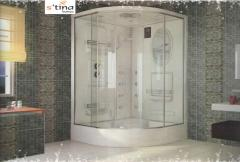 Hydromassage showers