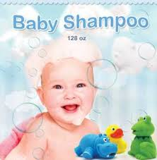 Shampoo for baby's
