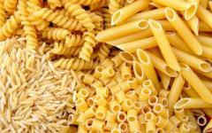 Pasta Production.