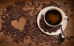 Coffee beans of medium roast