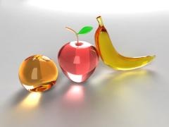 Fruits - Banana, Apple