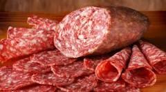 Semi smoked various type of sausage
