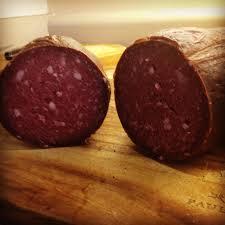 Beef semi smoked sausage