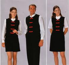 Hotel personal uniform