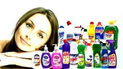 Жидкое мыло и бытовая химия из Турции