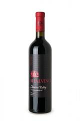 Alazani Valley, red semi-sweet wine,Алазанская