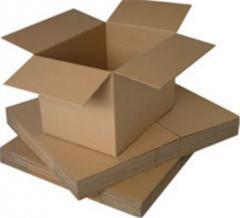 Упаковка - картонные (полиэтиленовые) коробки емкость 12,5 - 25 кг для транспортировки фундука