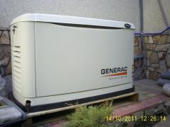 Газовый электрогенератор GENERAC 5.6 kW / გაზის გენერატორი Generac 5.6 kW