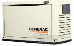 Газовый электрогенератор GENERAC 10 kW / გაზის გენერატორი Generac 10 kW
