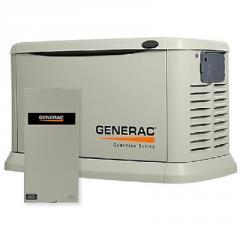 Электрогенератор газовый GENERAC 8 kW / გაზის