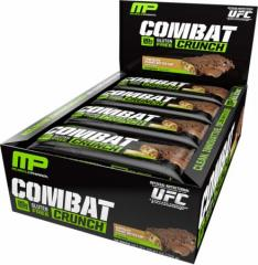 MusclePharm Combat Crunch Bars 12 bars