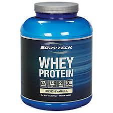 BodyTech Whey Protein - French Vanilla (5 Pound Powder)