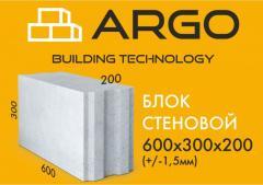Блок стеновой  ARGO