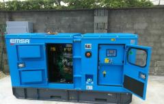 Электрогенератор дизельный EMSA EN82 / დიზელის გენერატორი