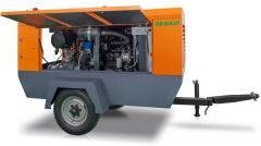 DENAIR diesel compressors