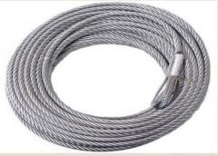 4WD Winch Steel Cable
