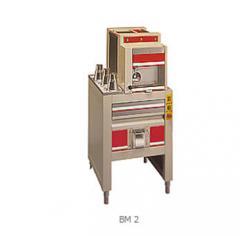 Portioning rounding machine