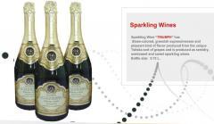 "Sparkling Wine ""TRIUMPH"""