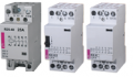 Modular contactor for installation into distribution board