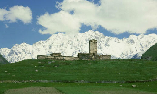Order Svaneti mountains
